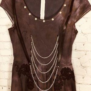 🎼 Gothic Punk Street Style Dress 🎭